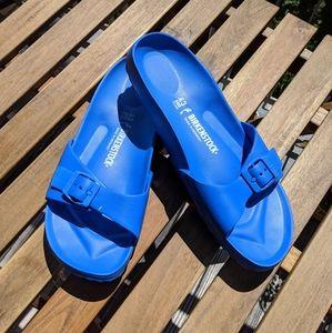 NEW Birkenstock Madrid EVA Blue
